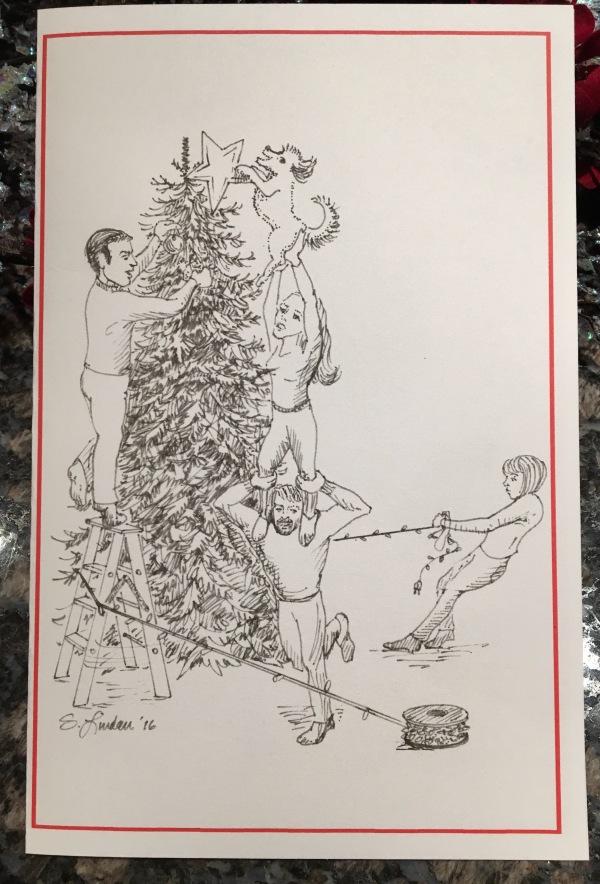 2016 Christmas Card illustration