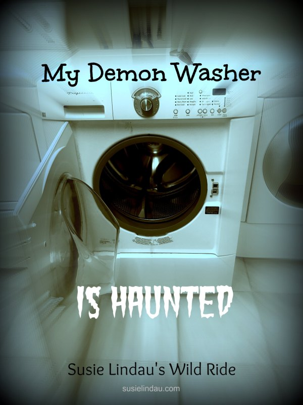 A haunted washing machine with paranormal activity