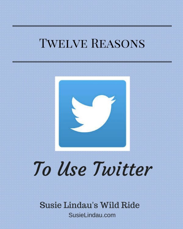 Twelve reasons to use Twitter to connect with others.