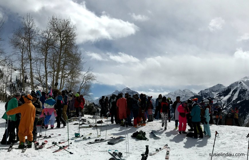 Aspen Highlands closing day party