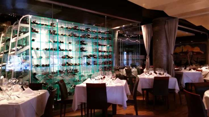 Interior of Venice Ristorante from their site