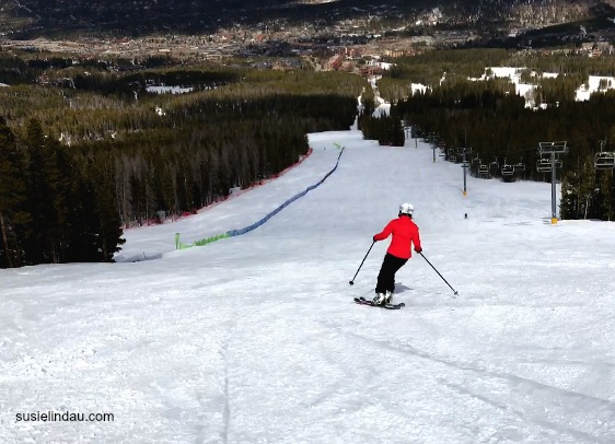 Skiing after my brother's death carrying weight in every turn.
