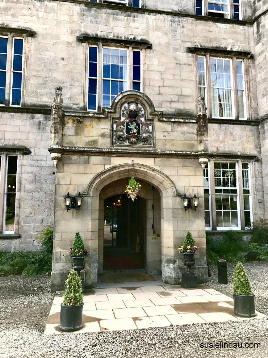 Melville Castle entrance
