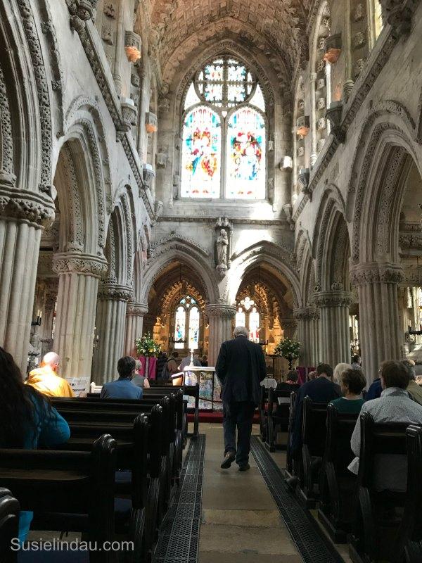 Rosslyn Church stone