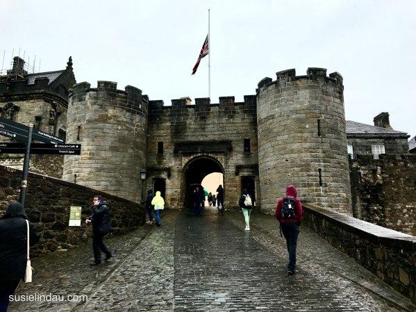 Stirling Castle Entry
