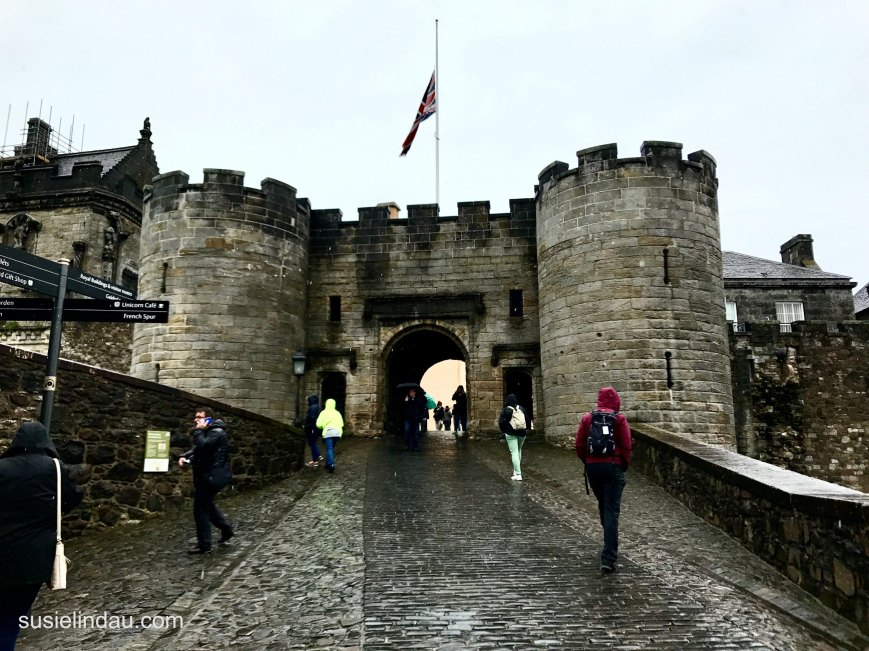 Stirling Castle Entry