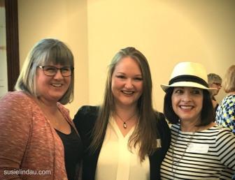 Elena, Suzie and Susie meet up in London