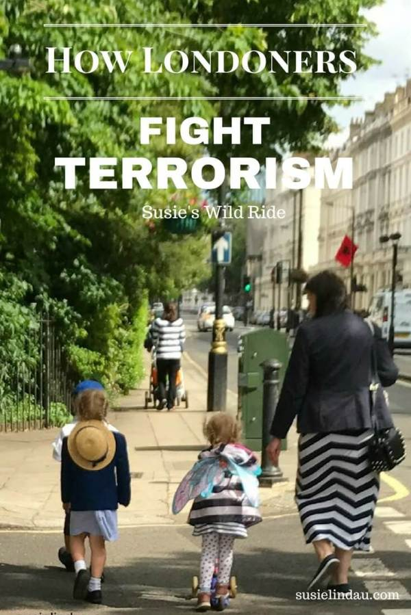Londoners Fight Terrorism every day