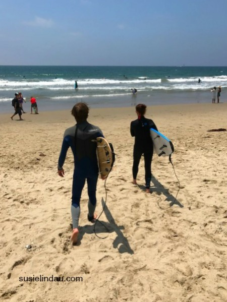 Kelly and Susie Santa Monica Beach