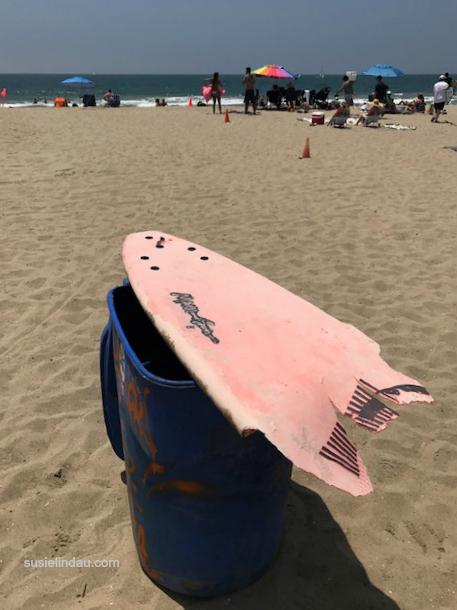 Shark bites board