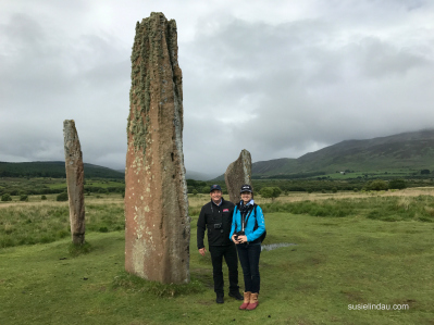 Danny and I at the Standing Stones