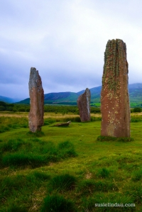 Highlights of Scotland for Outlander Fans, Standing stones on Arran Island, Travel Europe Destinations, Scotland