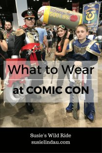 What to Wear at Comic Con