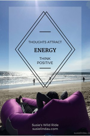 Thinking positive to attract energy