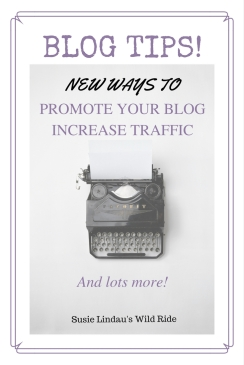 Blog tips from six years of blogging. New ways to promote, increase traffic, grow community, and more.