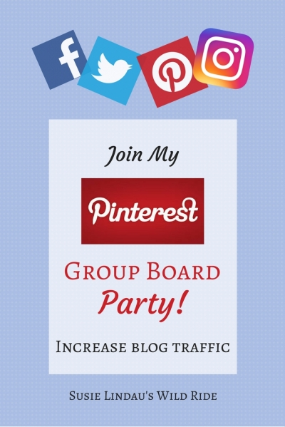 Pinterest Group Board Party to Increase Blog Traffic