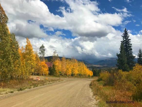 Fall color in Silverthorne, Colorado