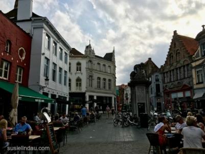 The Bruges Village before dusk