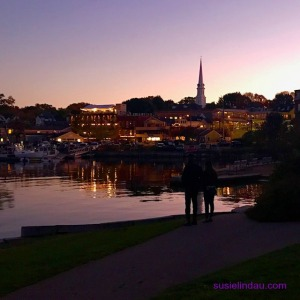 The harbor in Camden, Maine