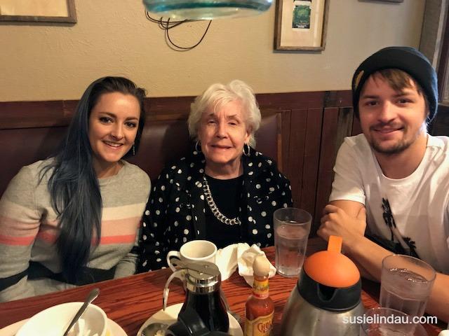 Courtney, Grandma, and Kelly