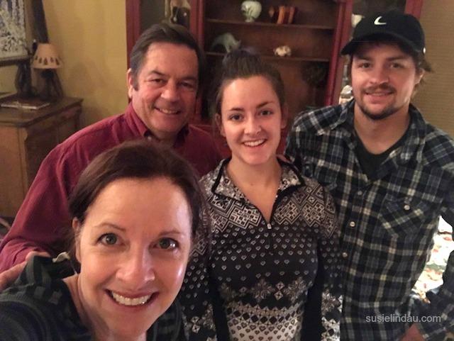 Susie, Danny, Courtney and Kelly Lindau