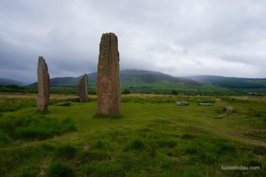 The standing stones of Scotland
