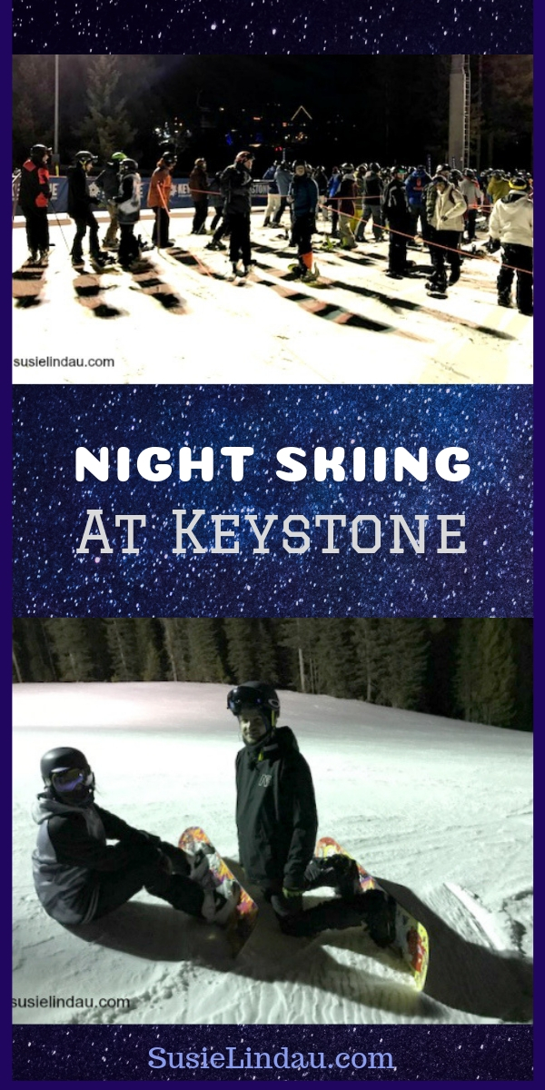 Night Skiing at Keystone! Check out the photos to find out how to lengthen your day at the slopes! Outdoor adventures, skiing, snowboarding, winter sports, Colorado, Travel North America, Travel United States, Travel tips and advice #travel #outdooradventures #skiing #snowboarding #wintersports