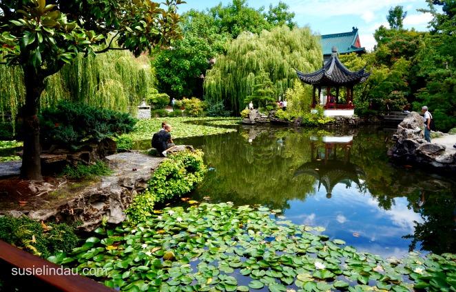 Escape Chinese Garden Vancouver