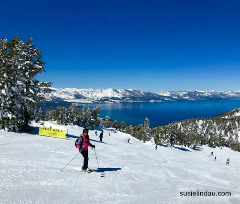 Heavenly view of Lake Tahoe