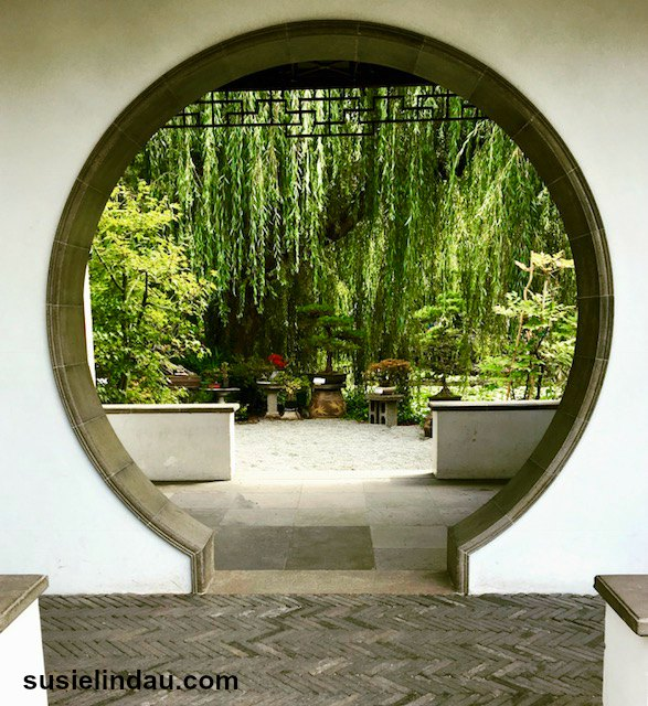 The entrance to the extraordinary Sun Chinese Gardens