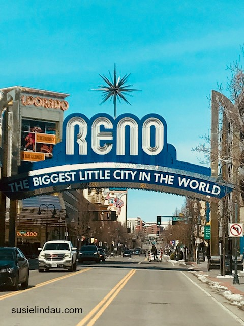 Downtown Reno sign