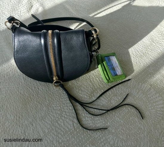 Travel accessories - purse, dinky wallet and carabiner