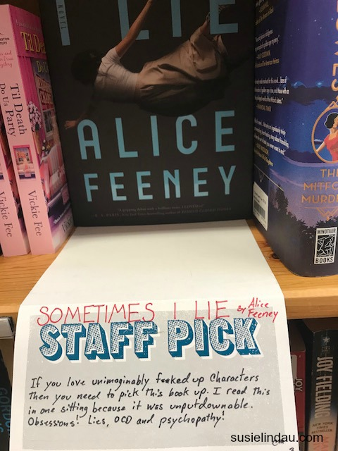 Powells' Staff Pick with funny f-bomb
