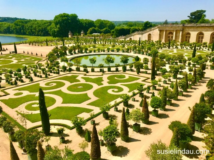 The best of Versailles and formal gardens in geometric patterns