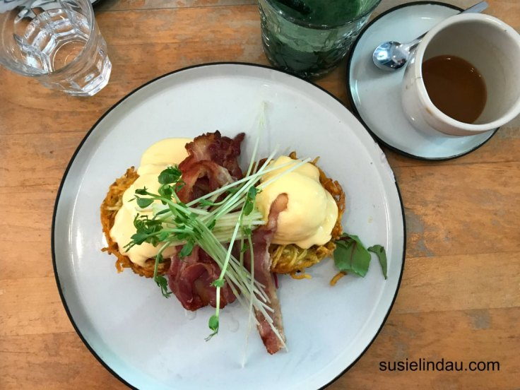 The Best of Amsterdam on Foot, Boat, and Bike. Eggs Benedict at Dignita Vondelpark restaurant. Travel Europe Destinations, Travel tips, Netherlands, canal tours, biking, Rembrandt Museum. #Amsterdam #boattours #biking #Rembrandtmuseum