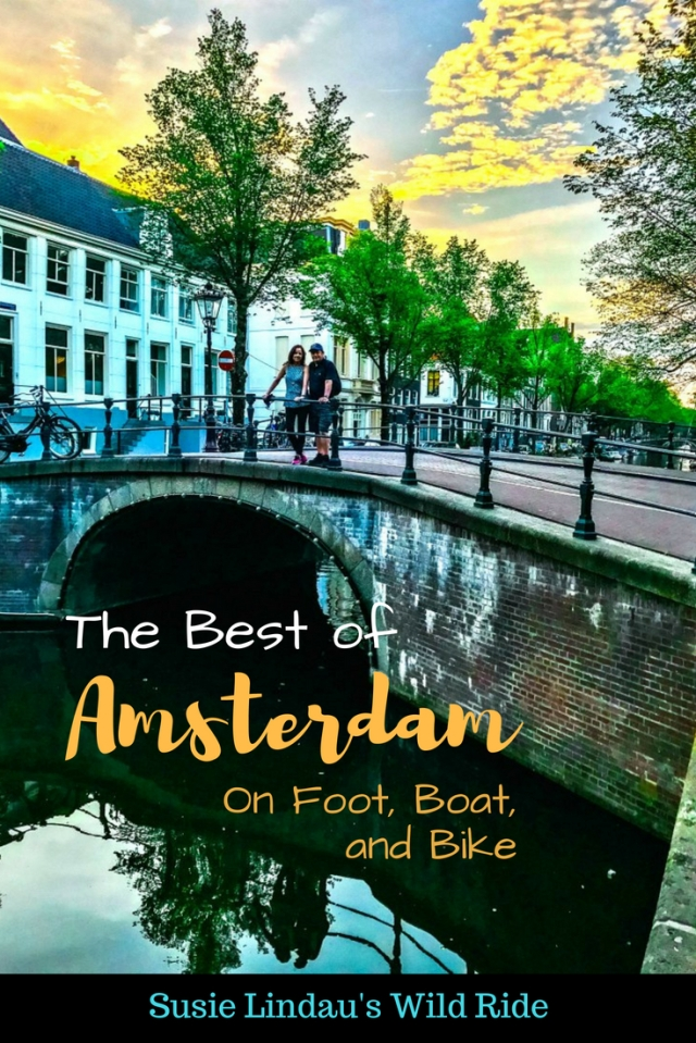 The Best of Amsterdam on Foot, Boat, and Bike!