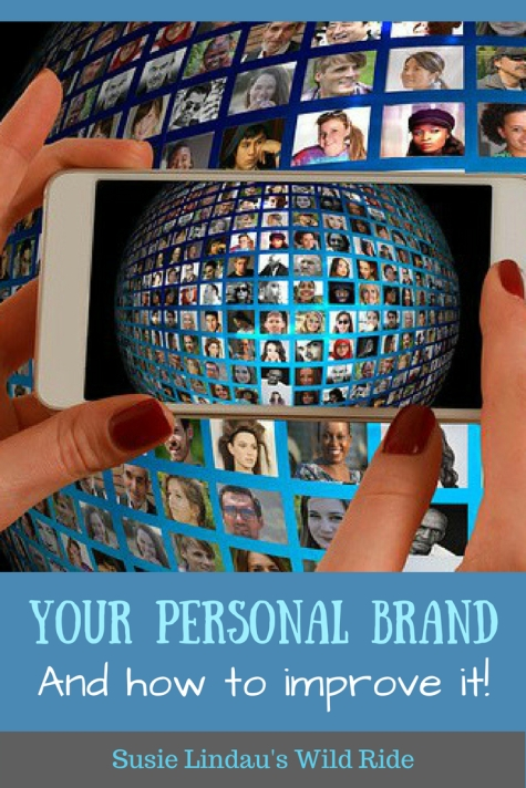 Your personal brand and how to improve it, iPhone taking photo of photos. Social media marketing, branding, blogging, Facebook