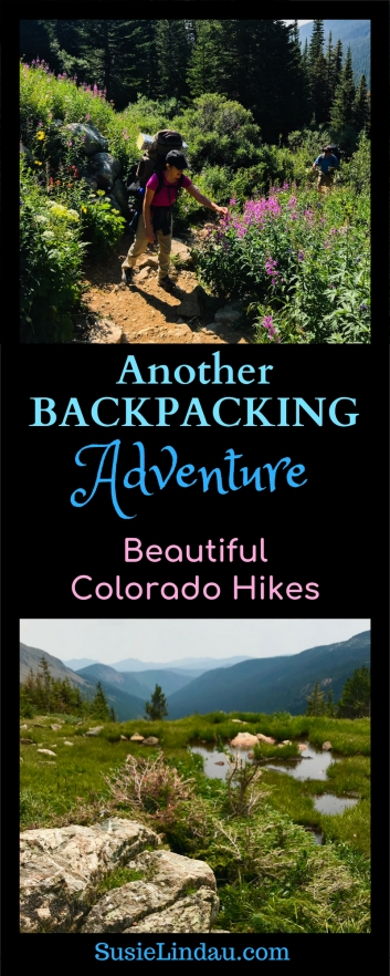 Another Backpacking Adventure! A beautiful Colorado hike close to Boulder to Arapaho Pass and Diamond Lake. Rocky Mountain vistas on the continental divide