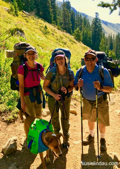 Backpacking adventure to Arapaho Pass