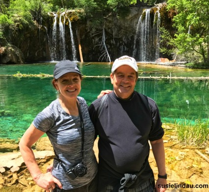 Danny and Susie at Hanging Lake