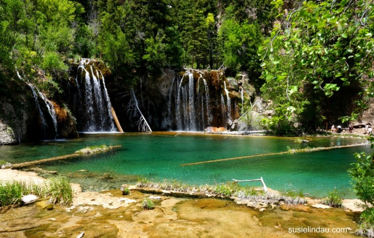 Why you should hike Hanging Lake in the Glenwood Canyon, Colorado. Waterfalls, lake, and great exercise!