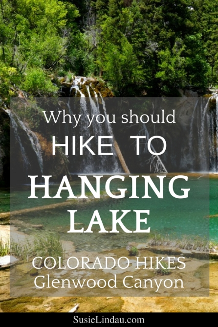Why you should hike to Hanging Lake! In the Glenwood Canyon, Colorado Waterfalls galore and lush scenery will be worth the 1000 foot climb.