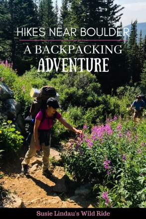 Hikes Near Boulder - A Backpacking Adventure to consider! Outdoor adventures, Colorado hikes, travel North America, camping #Traveltips #travel #hiking #camping