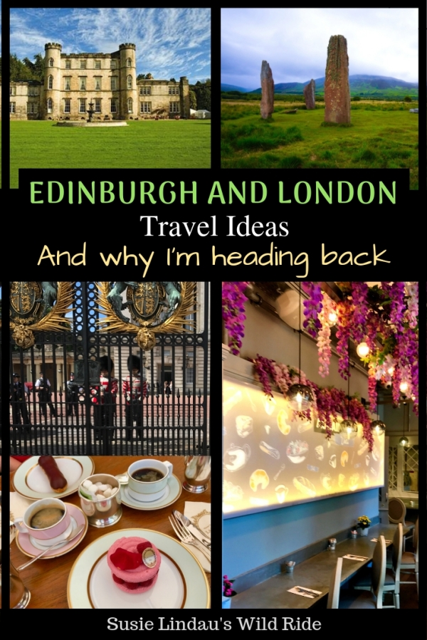 Edinburgh and London travel ideas and why I'm heading back. Click for photos, castle and hotel tips, travel tips and bucket a list of new ideas. Travel Europe, Travel Advice, Scotland, England, Uk, #Travel #traveltips #travelideas #edinburgh