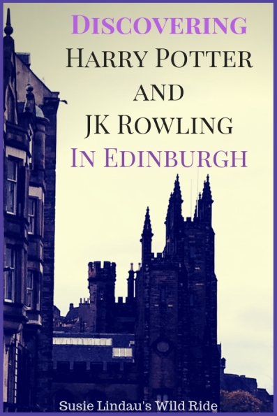 Discovering Harry Potter and JK Rowling in Edinburgh, Scotland. Click for photos and writing inspiration found in a magical place! Writing tips, Creative writing, Books, writing and publication, Travel Europe Destinations, Scotland, Travel tips and advice #Scotland #Edinburgh #Travel #HarryPotter #writinginspiration