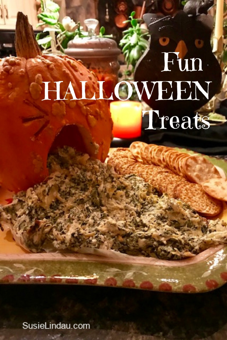 Fun Halloween Treats. Click for more Halloween party ideas! Food, Snacks, Halloween ideas, Halloween party, Halloween DIY, tips, entertaining Food, #Halloween #halloweenparty #HalloweenDIY #Halloweenfood #Halloweenideas