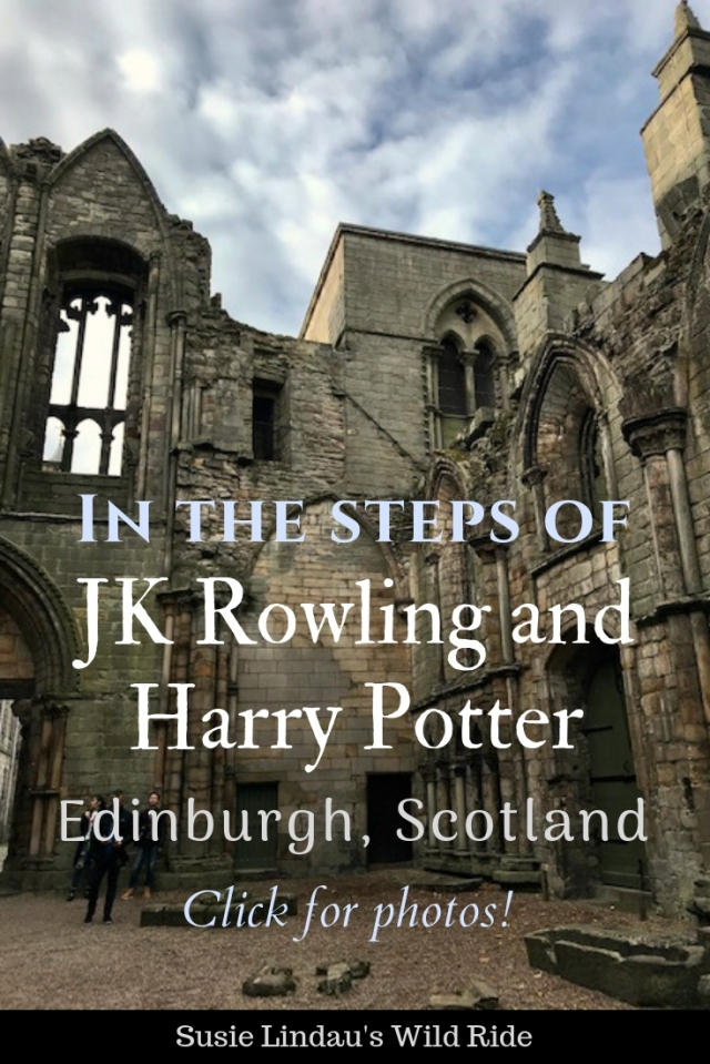 In the Steps of JK Rowling and Harry Potter – Edinburgh, Scotland