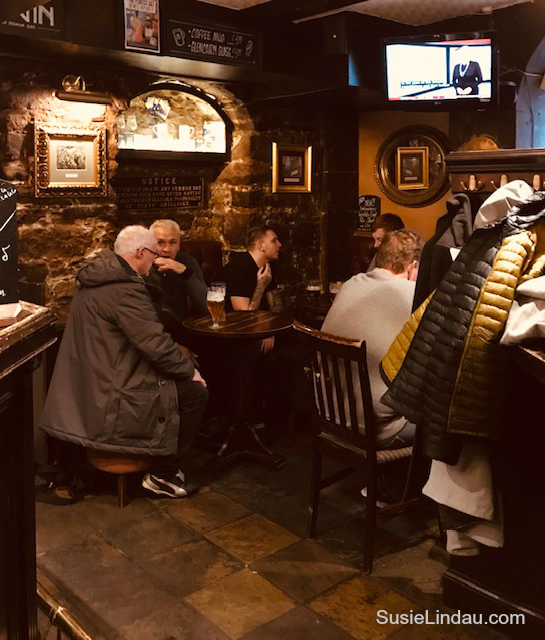 Inside The World's End. One of many amazing places in Edinburgh that may have inspired JK Rowling and Diana Gabaldon. Click for photos! Travel Europe Destinations, Writing tips, Outlander, Travel Scotland, Harry Potter, Travel tips Scotland, Creative writing #Scotland #Travel #writing #books #traveleuropedestinations