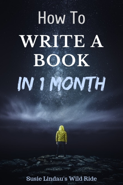 How to Write a Book in 1 Month! Click to find out how you can write one too! Writing tips, Writing novel, Books, writing and publishing, Creative writing #writers #writing #writingcraft #books
