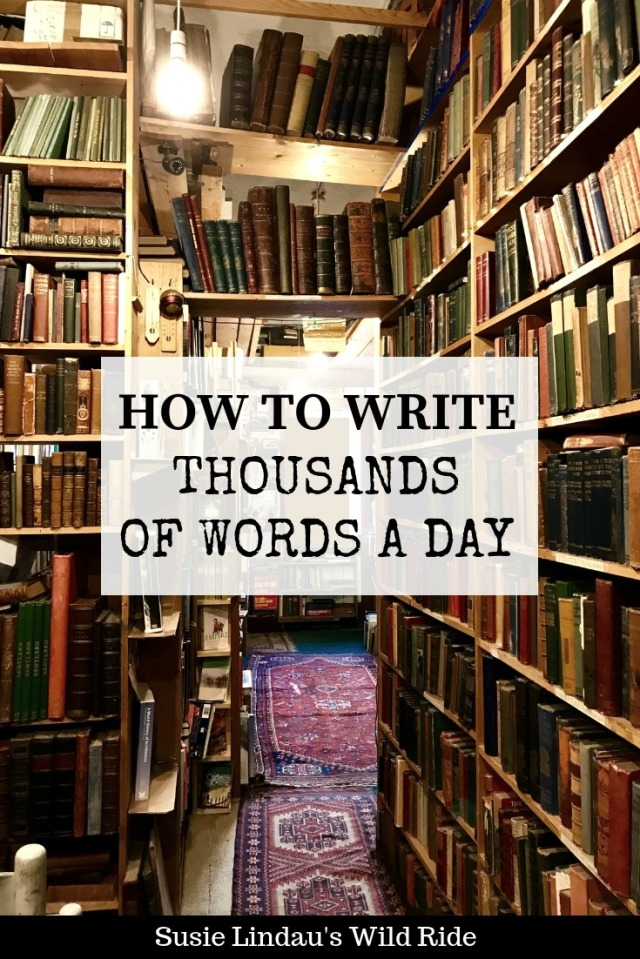 How to Write Thousands of Words a Day
